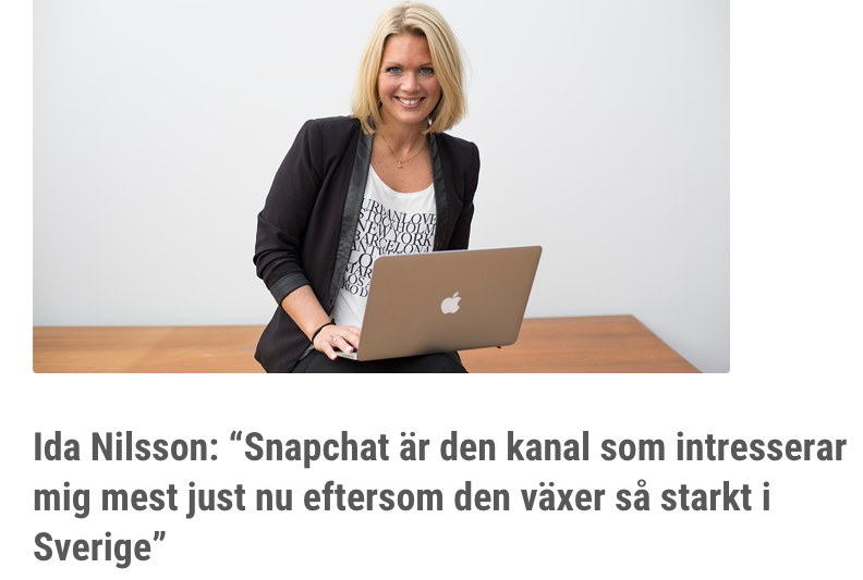 Cision influencer award -intervju