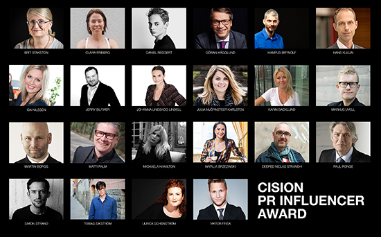 Cission influencer award2016